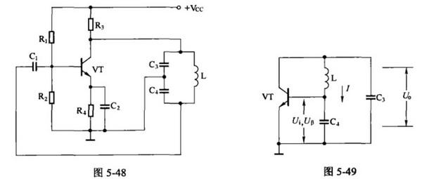 怎么分析电容三点式振荡器