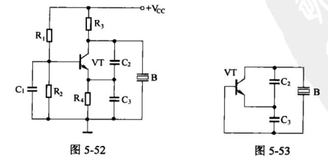 晶体振荡器并联电路分析